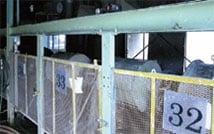 釉薬製造工場
